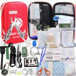 Best Safety First Aid Kit Home Office Car Boat Camping Hiking Hunting Adventures