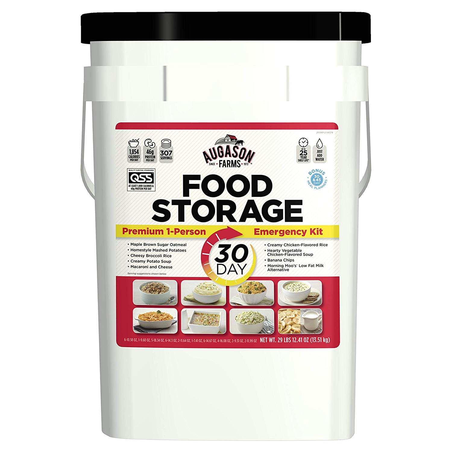 Best Emergency Survival Food Kit For 30-Day