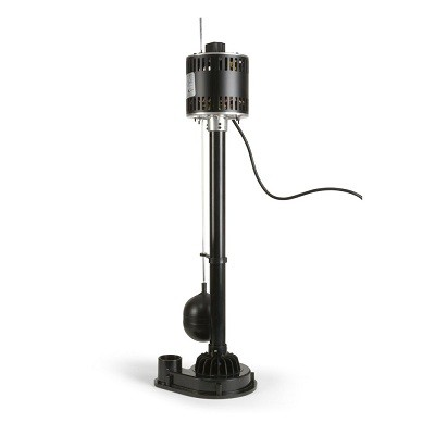 ECO-FLO Products EPP33 Pedestal Sump Pump with Vertical Float Switch