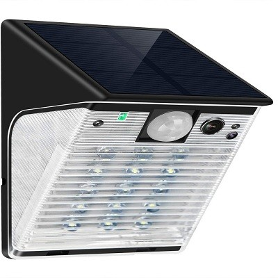 ENSTER Wireless Solar Battery Powered Security Camera