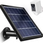 Skylety Solar Panel for Ring Spotlight Cam with Security Wall Mount