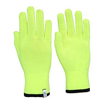 TrailHeads Light Knit Gloves Winter Glove Liners - Base Layer Gloves for Women and Men