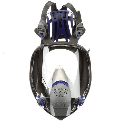 3M FF-420 Ultimate FX Full Facepiece Reusable Respirator, Medium - Mold, Painting, Sanding, Chemicals, Gases, Dust