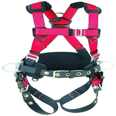 3M Protecta PRO Construction Harness, Back and Side D-Rings