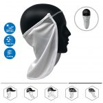 CoolNES Neck or Face Sun Mask | Removable Universal Fit Headband + Flap