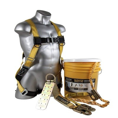 Guardian Fall Protection (Qualcraft) 00815 BOS-T50 Bucket of Safe-Tie with Temper Anchor