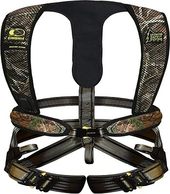 Hunter Safety System 320 Ultra-Lite Tree Stand Safety Harness, Realtree