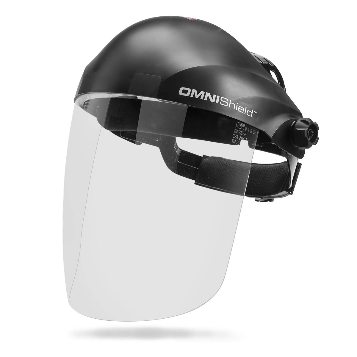 Lincoln Electric K3750-1 OMNIShield Professional Face Shield | High Density Clear Lens | Premium Headgear