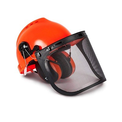 TR TR88011 Industrial Forestry Safety Helmet and Hearing Protection System