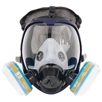 Trudsafe 6800 Complete Suit Painting Spraying Full Face Gas Chemical Mask Respirator