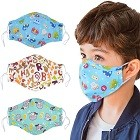 Aniwon Dust Mask for Kids,3 Pcs PM2.5 Kids Mouth Face Mask with Adjustable Straps