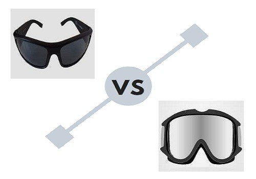 Different between safety glasses and goggles