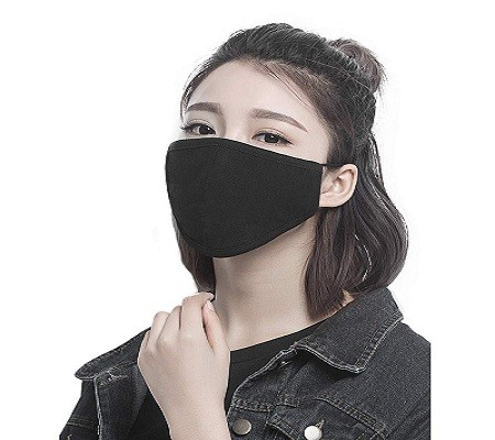 FECEDY 43237 8pcs/Pack Dust Masks Breathable Reusable for Outdoor Sport Half Face Earloop Mask