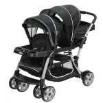 Graco 1934625 Ready2Grow LX Double Stroller | Lightweight Double Stroller, Gotham