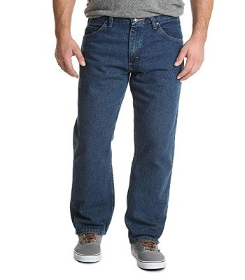 Wrangler Authentics Men's Relaxed Fit Cotton Jean