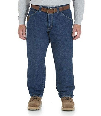 Wrangler Riggs Workwear 3W055 Men's Lined Relaxed Fit Jean