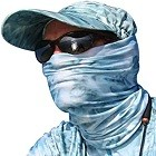 Aqua Design Fishing Hunting Masks Neck Gaiters for Men and Youth
