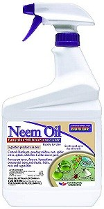 Bonide BND022 Ready to Use Neem Oil, Insect Pesticide for Organic Gardening (Bug Spray for Yard Safe for Pets)