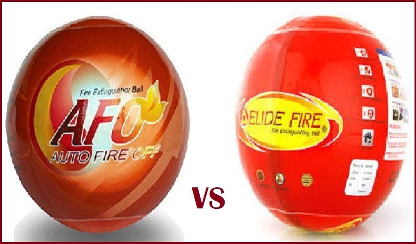 Elide Fire Ball vs Afo [Elide & Afo Fire Extinguisher Ball Review]