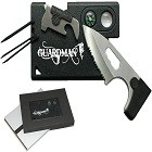 Guardman Credit Card Knife Tool 10 in 1 Camping Knife Credit Card Survival Tool
