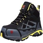 LARNMERN Steel Toe Boots,Mens Work Safety Outdoor Protection Footwear Industrial & Construction Boots