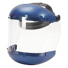 Sellstrom S38110 Dual Crown Safety Face Shield with Ratchet Headgear