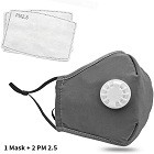 Baigewa Safety Dust Mask with 2 PM 2.5 Filters
