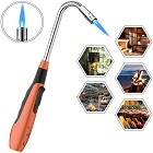 CooAoo Torch Fire Lighter Jet Flame Butane Gas Refillable Safety Candle Lighters