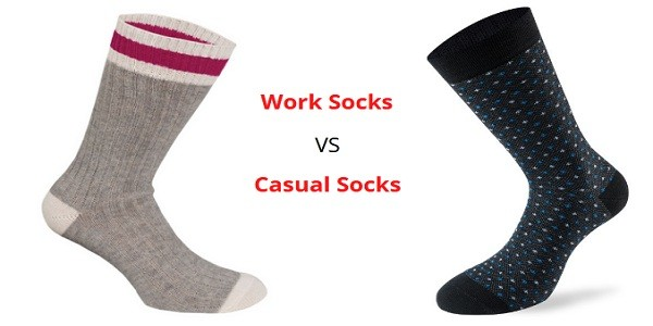 Work Socks Vs. Casual Socks. What's The Difference