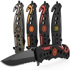 The Swiss Safe Fire & Rescue Tactical Knife for Firefighters