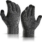 TRENDOUX Winter Gloves for Men and Women, Thermal Soft Wool Lining