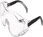 Gateway Safety 6980 Cover2 Safety Glasses for Dust & Virus Protection