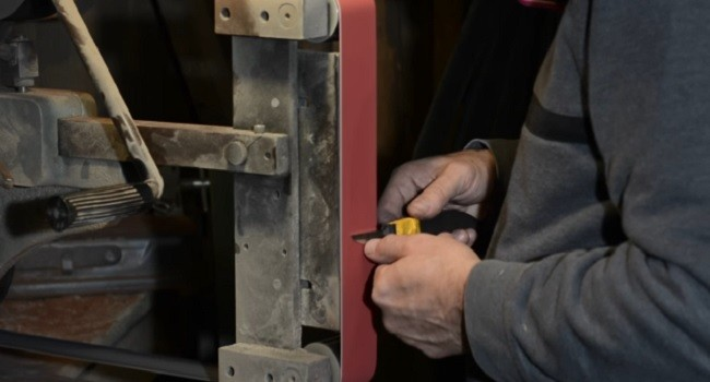 How To Use Sanding Belts